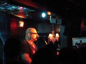 Black Francis performing at The Mint LA