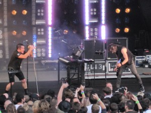 Nine Inch Nails at Santa Barbara Bowl, NIN/JA Tour