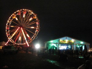 Bonnaroo Ferris Wheel and Arcade