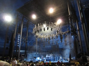 The Gorge stage