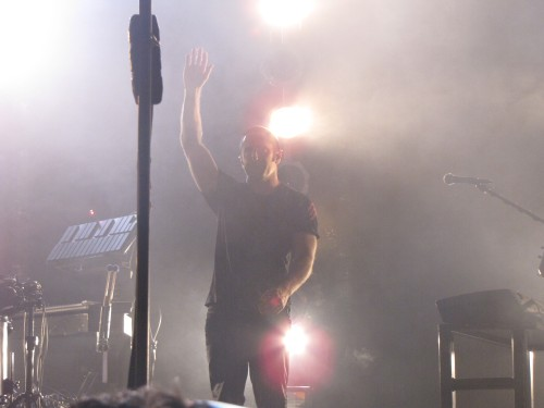 """I won't let you down."" Trent Reznor, September 10, 2009"