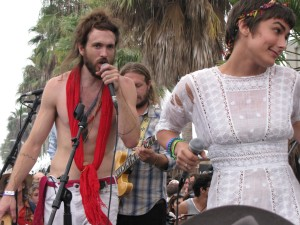 Edward Sharpe and Jade Castrinos