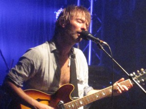 Thom Yorke singing a new, untitled song
