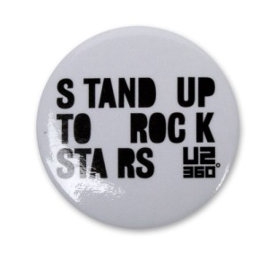 U2 Stand up to rockstars