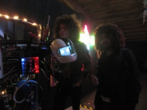 Wolfmother with a beheaded Hotshot Robot