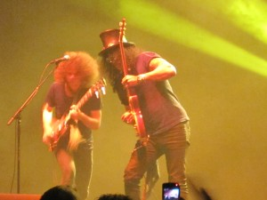 Andrew Stockdale and Slash