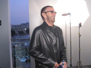Ringo Starr Laughing