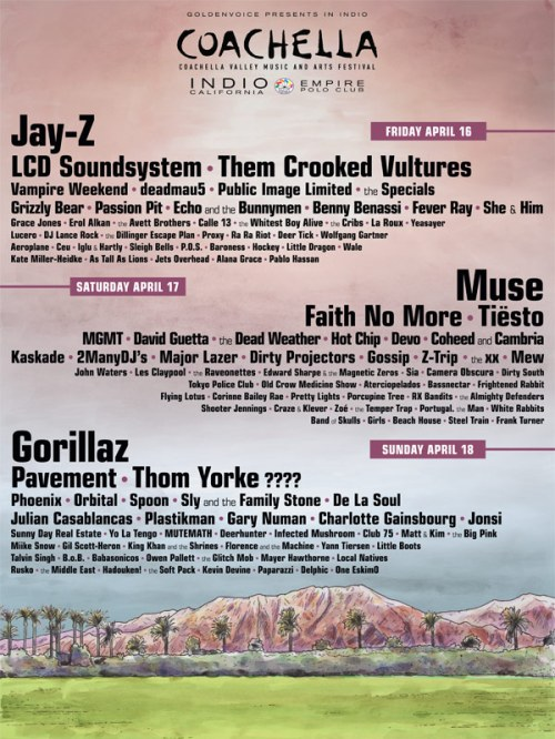Coachella Line-Up