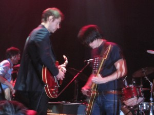 Ed O'Brien and Jonny Greenwood