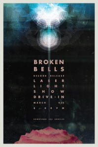 Broken Bells Record Release Laser Light Show