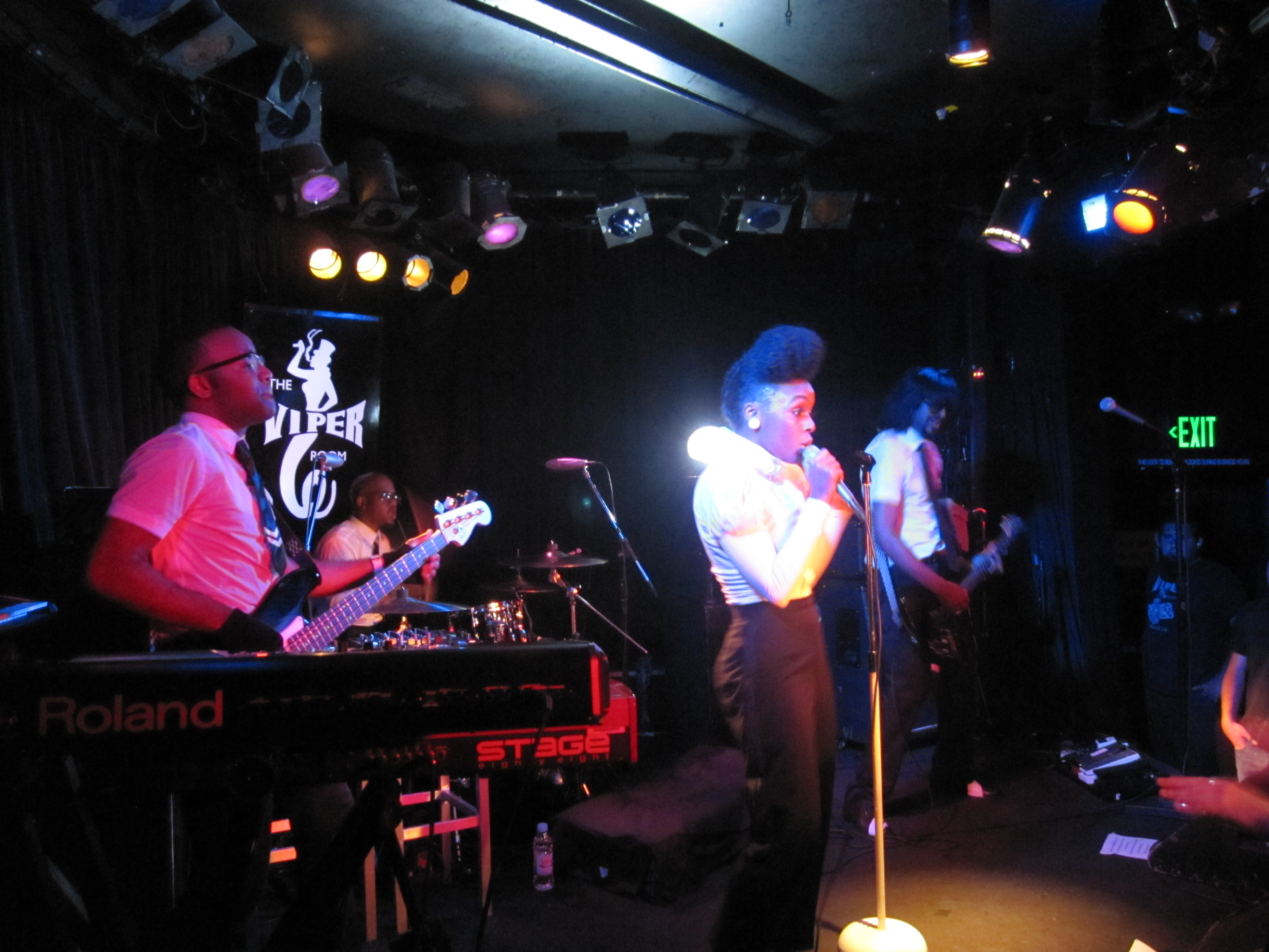 Janelle Monae: Emotion Picture Live at The Viper Room   Rock is a ...